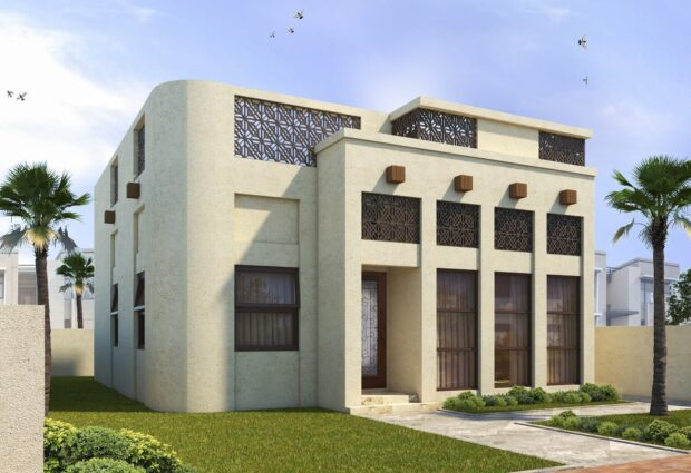 3D-printed House Sharjah - CyBe Construction