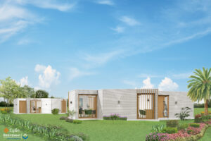 Lyve design buildings CyBe Construction - Betonindustrie Brievengat